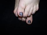 Zebra Time Toes