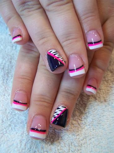 Pink Pow w/ Zebra