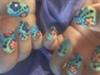 Spring Bling Nails