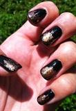 Foil - Black Peach Gold
