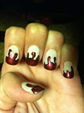Dexter Spatter Nails