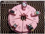 Hello Kitty And Friends Nail Art
