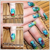 Under The Sea Nail Art