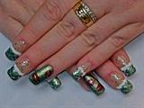 Naughty Elf Nails