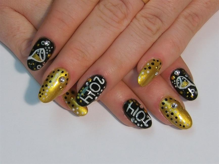 New Year\'s Nails - Nail Art Gallery