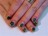 Dried Flower French Manicure