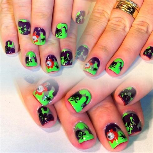 Toxic Waste Nails