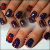 Simple Red & Blue Design