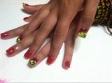Reggae Inspired Nails