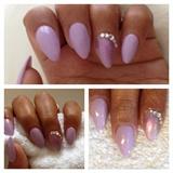 Light Purple Nail