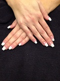 French Ballerina Nails