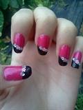 My first Nail Art :-D