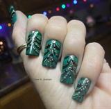 Christmas tree marble