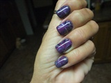 Dark purples marbe