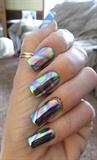 Rainbow Swirl foil