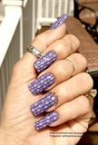 Lilac on Purple