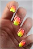 Neon Gradient & Glitter