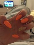 Orange/ Bronze