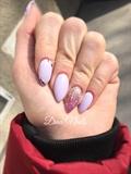 Lavendel Gel Polish/ Acrylic Base