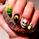 Halloween Mani 2014