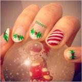 Christmas Mani 2014