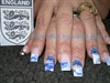 World Cup 2010 England Nails
