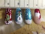Christmas Nail Art Ideas #2