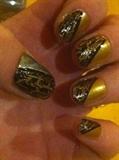 Golden Crackle