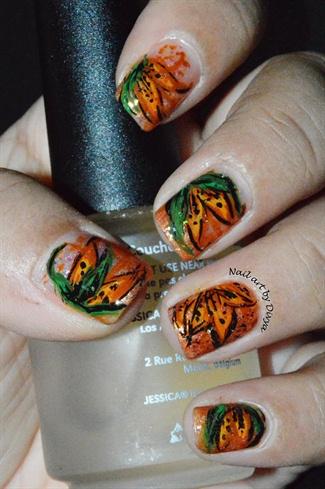 Tiger lily nail art gallery - Tiger lily hair salon ...