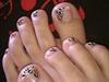 Pastel Cheetah Pedi