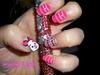Cute little piglet nails