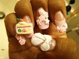 Left Hand - Cutie Nails