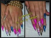 colorful stilettos