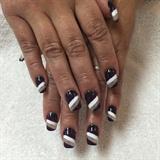 Deep Purple Nails