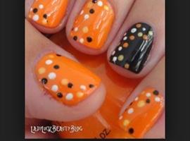 nail art: Dots
