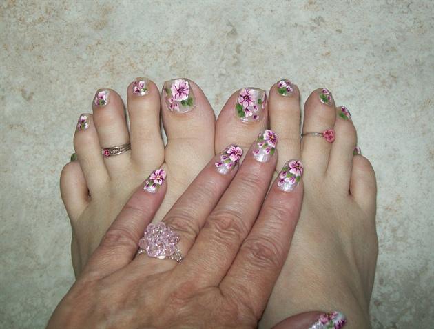 Artinails dise os para pies y manos hands and feet desings for Modelos de unas de manos
