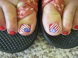 American Pride (toes)