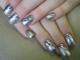 Purple Zebra & Gems