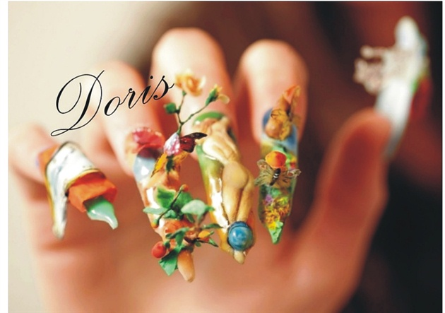Dali Nail Art 3d Acrylic Nail Art Gallery
