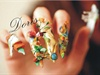 dali nail art, 3d acrylic