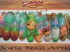 nail art 3d acrylic artificial nail