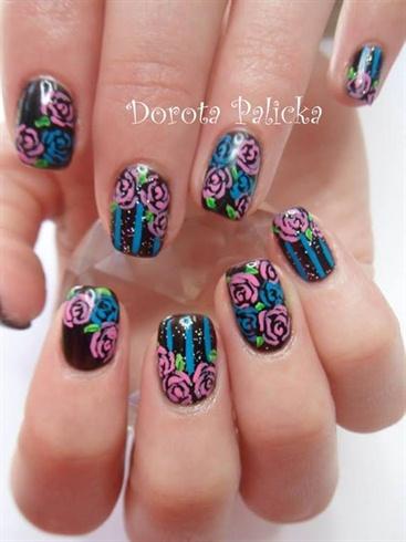 Free hand salon design by Dorota Palicka