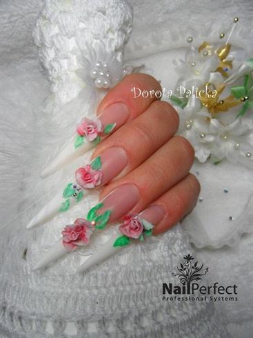 3d roses design by Dorota Palicka