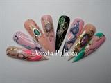 Jewelery nail art