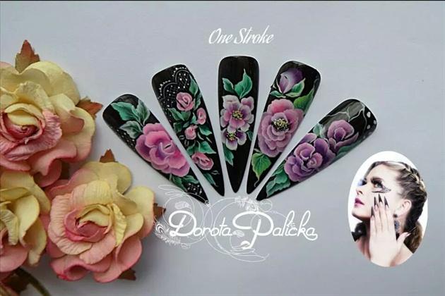 One stroke level2 by Dorota Palicka