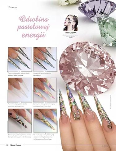 Jewellery nail art by Dorota Palicka