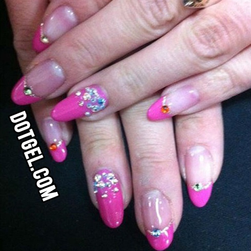 Stones on Pink