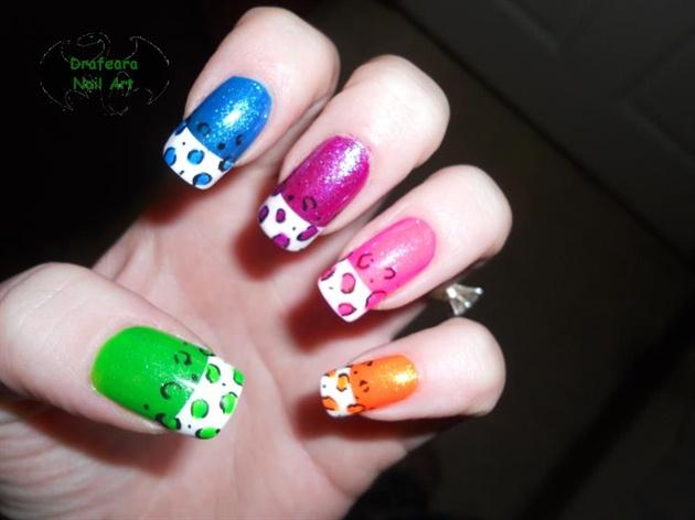 Дизайна ногтей маленькая девочка