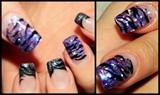 purpleblackanimalprintglitterr