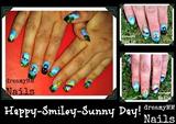 Happy smiley sunny Day